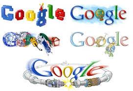 design a google logo online green thursday services