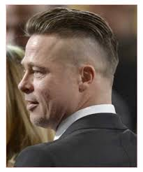 comeover haircut mens comb over haircuts also brad pitt haircut back all in men