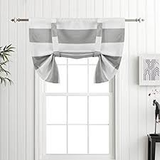 Tie Up Curtains Turquoize Tie Up Curtain Valance Rod Pocket Kitchen