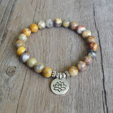 bead bracelet stone images Diy handmade jewelry natural stone beaded bracelet yoga chakra jpeg