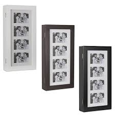 Cosmetic Cabinet Belleze Photo Frames Jewelry Wall Mount Armoire Wood Cosmetic