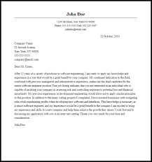 software engineer cover letter professional senior software engineer cover letter sle writing