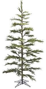 prelit tree artificial 7ft x 57in pistol pine pre lit tree