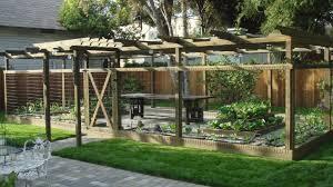 small backyard vegetable garden decorating clear