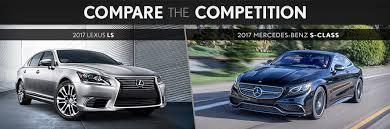 lexus better than mercedes 2017 lexus ls vs mercedes s clas