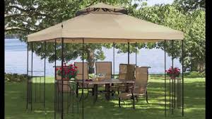 Patio Gazebos For Sale by Walmart Athena Gazebo Canopy Youtube