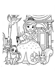 picture princess sofia friends sofia colouring