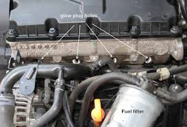glow plug removal and how to do a compression test on 2004 2005
