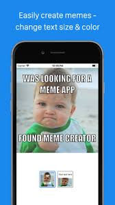 Meme Vreator - meme creator viewer on the app store