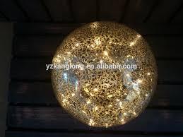 mercury glass ball lights home decorative led light glass ball christmas ornament mercury