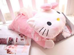kitty cute soft plush tissue box cover car accessories