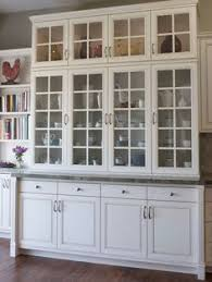 kitchen hutch ideas glass doors kitchens and pottery