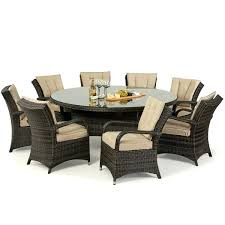 8 Seater Patio Table And Chairs 8 Seater Garden Table Outdoor Patio Dining Table For 8 8 Metal