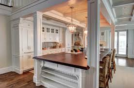Kitchen Island Overhang Bar Countertop Overhang Awesome Wall Mounted Country Kitchen