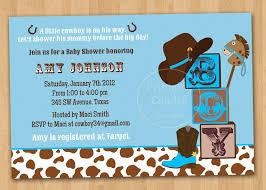 cowboy baby shower invitations reduxsquad com