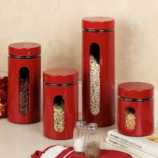 vintage kitchen canister kitchen canister set with metal base glass canisters