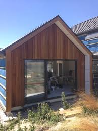 little black barn house cedar cladding black cladding nz