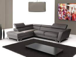 Overstock Chaise Living Room Luna Sec Naomi Brown Convertible Sectional Sofa By