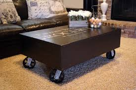 industrial coffee table with wheels coffee tables ideas phenomenal industrial style coffee tables on