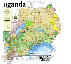 Map Of Uganda Africa by Uganda Visited April 10 18 2012 I Will Be Going Back