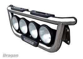 renault premium to fit renault premium steel grill light bar 4x 9