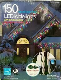 Multi Color Icicle Lights Multicolor Led Icicle Lights With Multifunction Remote Control