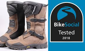 long road moto boot tested falco mixto 2 adventure motorcycle boots review