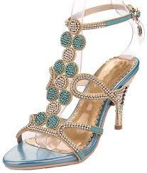 Rhinestone Sandal Heels 6277 Best Women U0027s Heeled Sandals Images On Pinterest Heeled