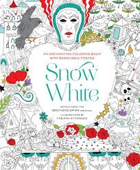 snow white coloring book fabiana attanasio 9781454920922 amazon