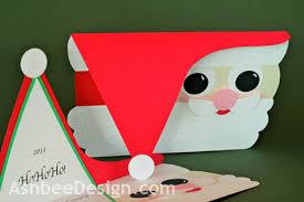 ashbee design diy santa card 2011 a year later