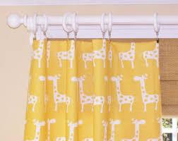 Yellow Drapery Corn Yellow Giraffe Etsy