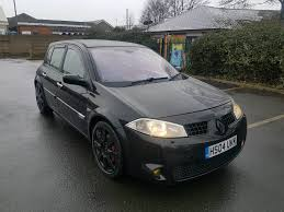 2004 renault megane renaultsport 2 0t 225 manual 5 door black