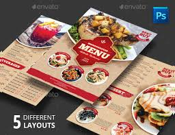 23 restaurant menu templates free psd ai eps format download