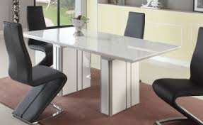 White Extending Dining Tables Exclusive Kitchen Dining Tables And Suits In Many Contemporary