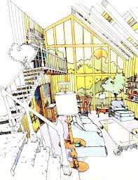 Living Room Architecture Drawing Knorr Architecture Blog Part I Architectural Mentors Laverne Lantz