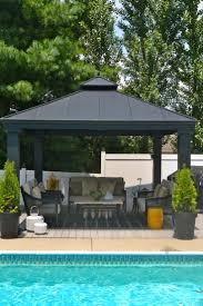 hardtop patio gazebo 12 best aluminum gazebos images on pinterest outdoor gardens