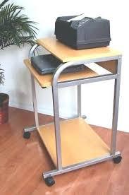 40 Computer Desk Desk Desk For Computer And Printer S 40 40 Mobile Computer Desk