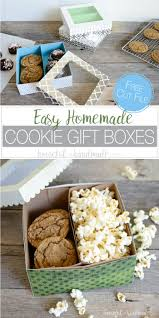 cookie gift boxes easy cookie gift boxes diy a houseful of handmade