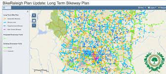 raleigh greenway map november 2016
