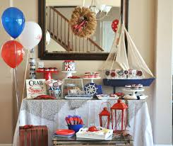 Nautical Baby Shower Decorations Decor Nautical Decorations For Party Praiseworthy Nautical Theme