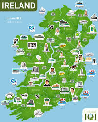 Dublin Ireland Map Map Of Ireland Ireland