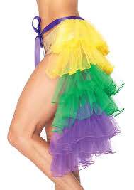 layered bustle skirt mardi gras costume costumes mardi