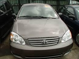 price of toyota corolla 2003 toyota corolla 2003 model spec autos nigeria