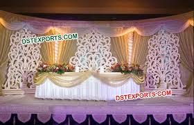 wedding backdrop frame wedding stage flower design back frame dstexports