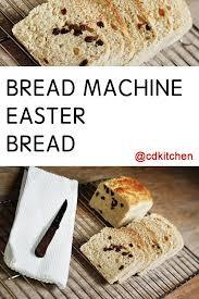 Yeast For Bread Machines Bread Machine Easter Bread Recipe From Cdkitchen Com