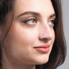 pink nose rings images Nose studs minar jewellers jpg