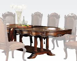 traditional dining table remington by acme furniture ac60030
