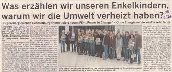 Kino Bad Nenndorf Bürgerenergiewende Schaumburg E V Matinee