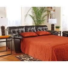 Nolana Charcoal Sofa by Signature Design By Ashley Alliston Durablend Queen Sofa Sleeper