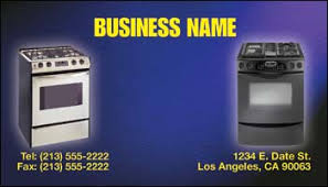 Appliance Business Cards Aaa Full Color Business Cards Appliances